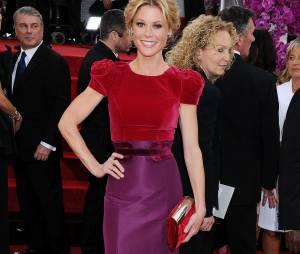 Golden Globes 2014 : Julie Bowen sur le tapis-rouge le 12 janvier 2014 à Los Angeles
