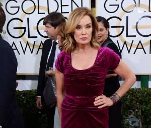 Golden Globes 2014 : Jessica Lange sur le tapis-rouge le 12 janvier 2014 à Los Angeles