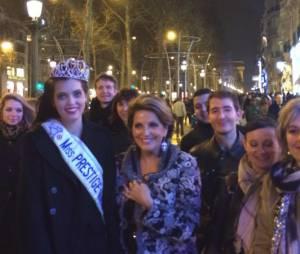 Miss Prestige National 2014 : Premier bain de foule pour Marie-Laure Cornu