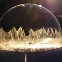[PHOTOS] Des bulles glacées ça donne quoi ? Un résultat fascinant