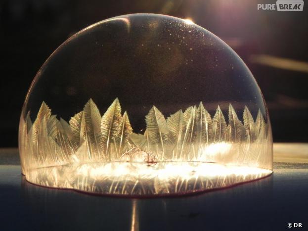 Des bulles glacées pour une résultat incroyable