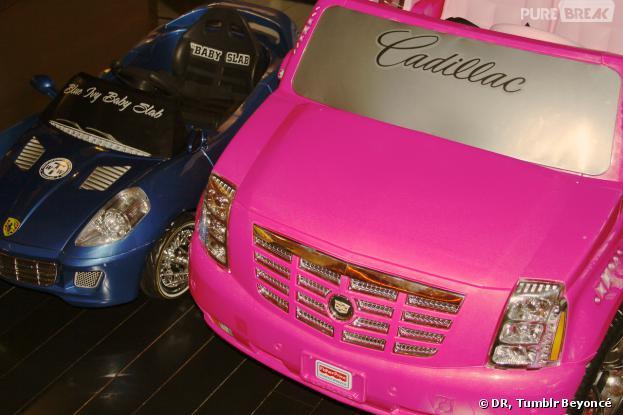 Beyoncé et Jay Z ont offert une mini Cadillac et une Ferrari à Blue Ivy Carter pour ses 2 ans
