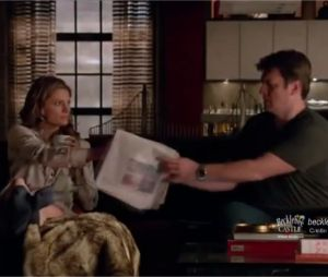 Castle saison 6, épisode 13 : extrait avec Nathan Fillion et Stana Katic