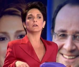 Florence Foresti a ressuscité son personnage de Dominique Pipeau dans L'émission pour tous, la nouvelle émission de Laurent Ruquier, le lundi 20 janvier 2014