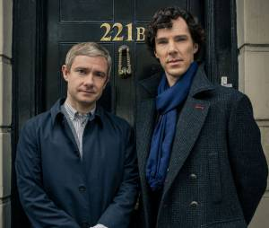 Sherlock : Benedict Cumberbatch et Martin Freeman, futurs concurrents de Robert Downey Jr ?