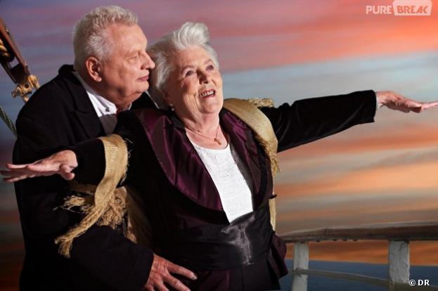 Des retraités allemands parodient les films américains