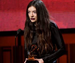 Grammy Awards 2014 : Lorde remporte deux trophées lors de la cérémonie qui s'est déroulée le 26 janvier 2014 à Los Angeles