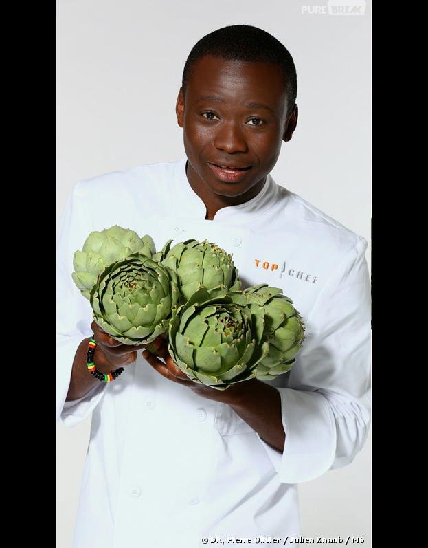 Top Chef 2014 : Dieuveil Malonga, l'un des nouveaux candidats