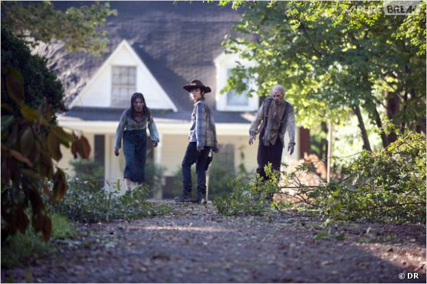 The Walking Dead saison 4 : Carl va évoluer