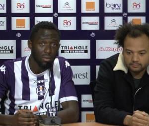 Thomas N'Gijol et Fabrice Eboué au coeur d'une conférence de presse délirante