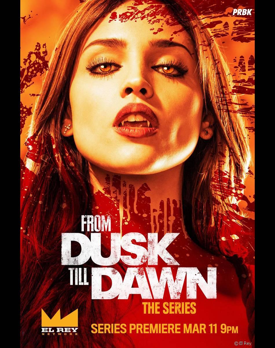 From Dusk Till Dawn : poster de la nouvelle série d'El Rey