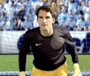Roger Federer devient footballeur dans la nouvelle publicité des rasoirs Gillette