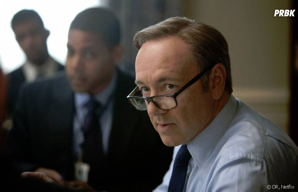House of Cards : Kevin Spacey sur une photo de la saison 1