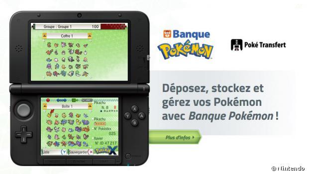 La Banque Pokémon est enfin disponible en Europe
