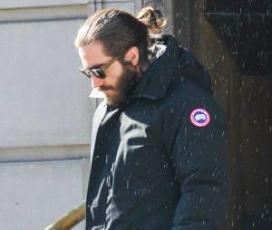 Jake Gyllenhaal à l'enterrement de Philip Seymour Hoffman, le 7 février 2014 à New-York
