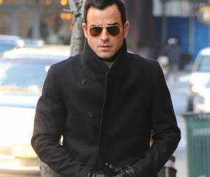 Justin Theroux à l'enterrement de Philip Seymour Hoffman, le 7 février 2014 à New-York