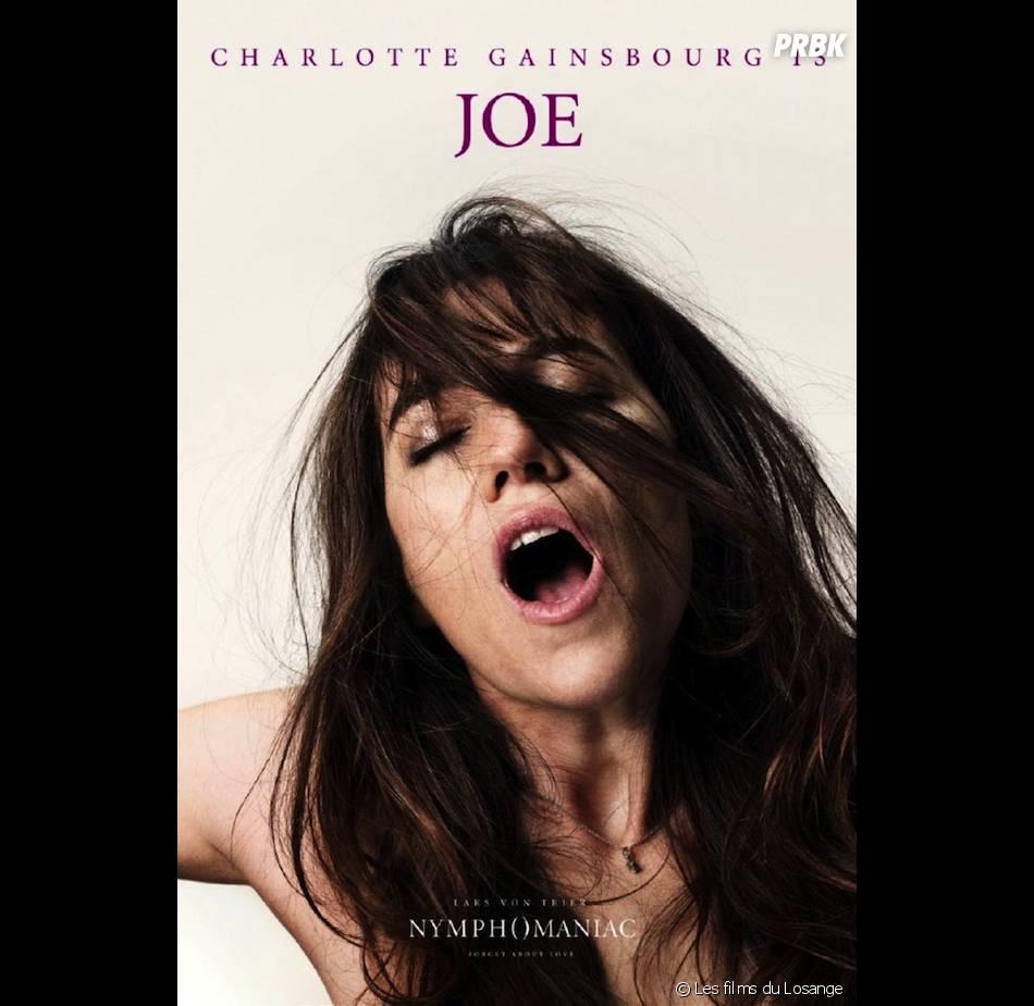Nymphomaniac : l'affiche avec Charlotte Gainsbourg