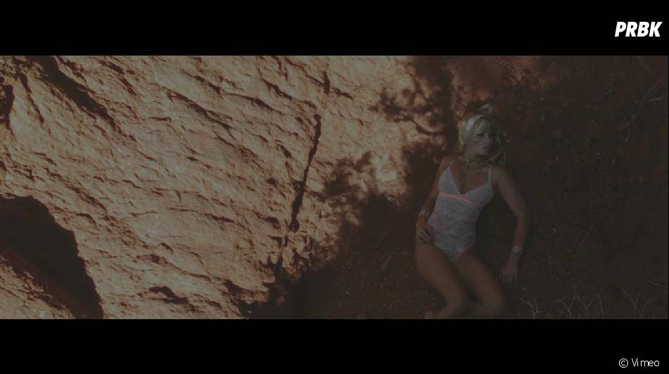 "Giuseppe Ristorante : Amandine en ""Amazone sauvage"" dans un court métrage"