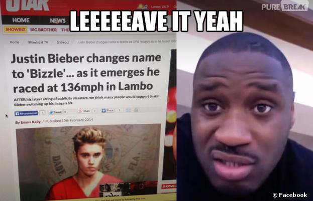 Justin Bieber : Lethal Bizzle, un rappeur canadien, l'accuse de plagiat