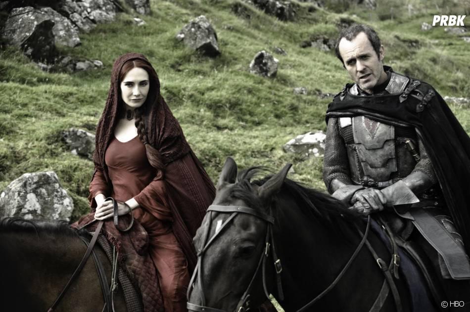 Game of Thrones : Carice Van Houten et Stephen Dilliane sur une photo