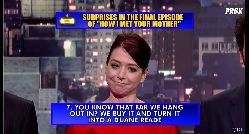 How I Met Your Mother saison 9 :la révélation d'Alyson Hannigan
