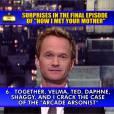 How I Met Your Mother saison 9 :la révélation de Neil Patrick Harris