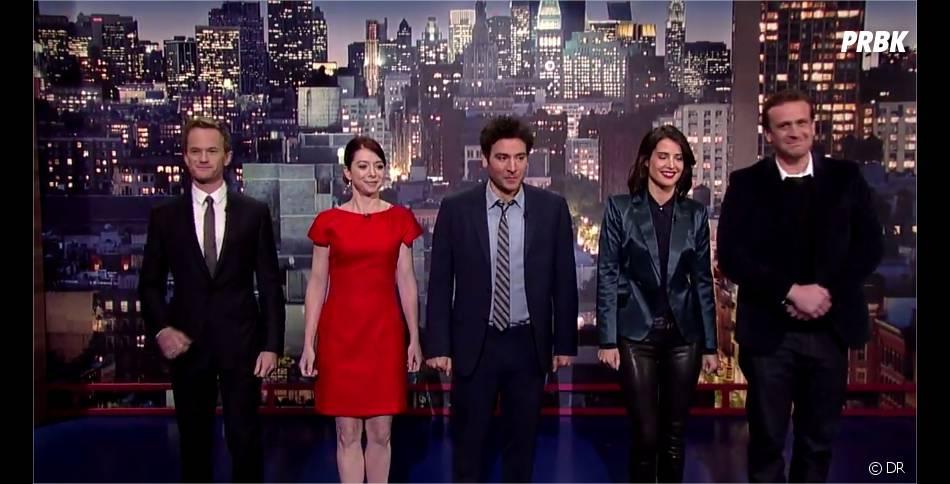 How I Met Your Mother saison 9 : l'équipe au David Letterman Show
