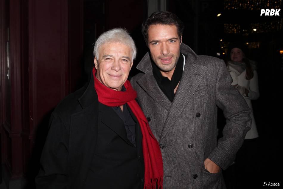 Nicolas Bedos et son père, Guy Bedos