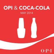 Coca Cola X OPI : des vernis pétillants en bouteilles pour le printemps