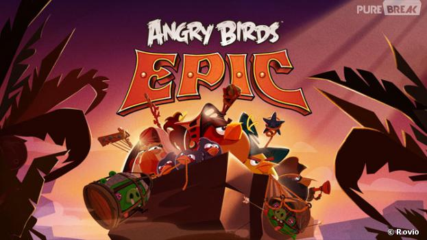 Rovio annonce Angry Birds Epic sur iOS, Android et Windows Phone