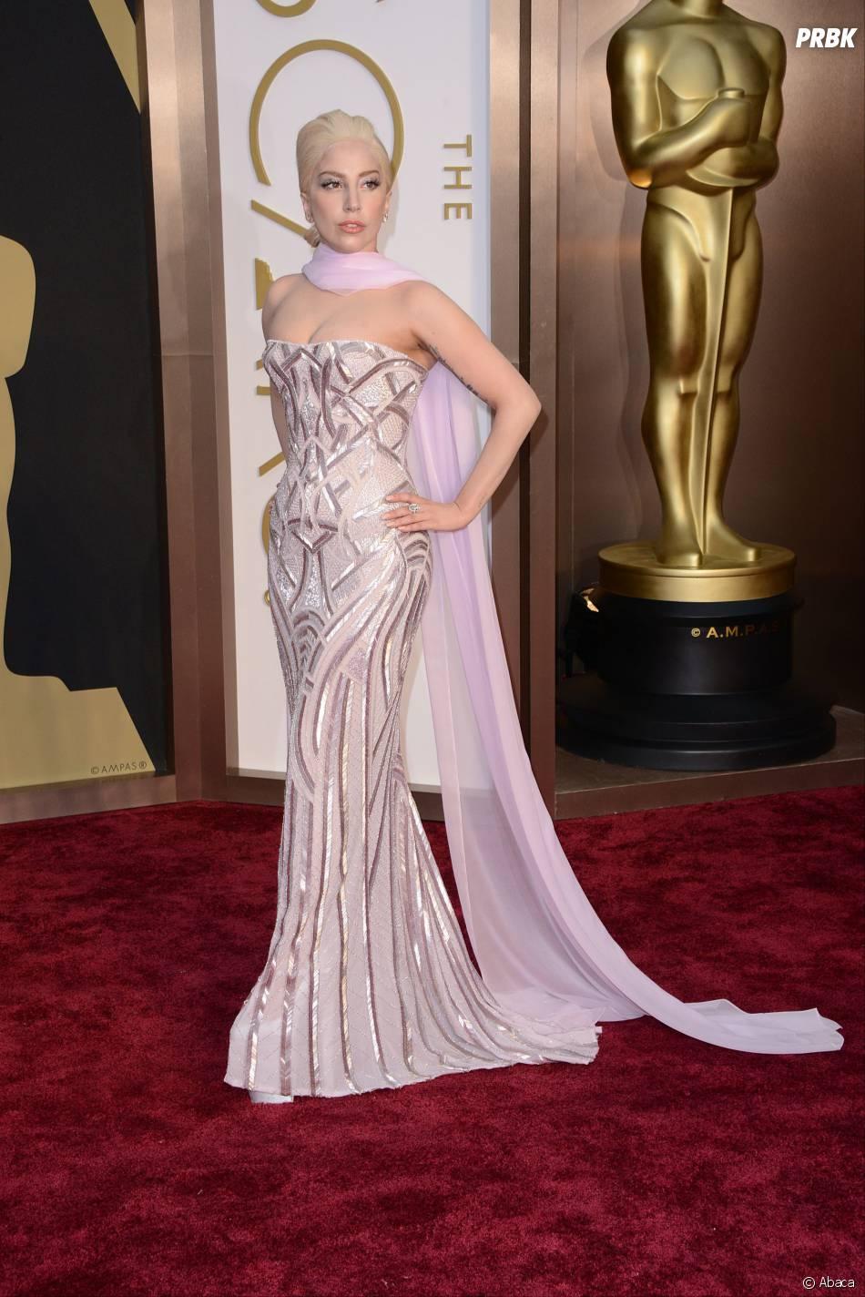 Lady Gaga aux Oscars 2014