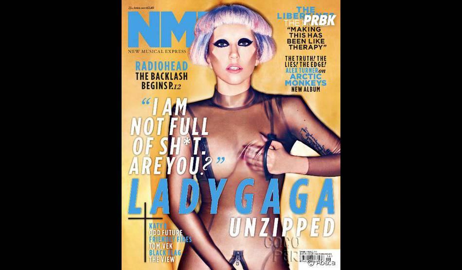 Lady Gaga en couverture d'un magazine, best-of de ses photos sexy