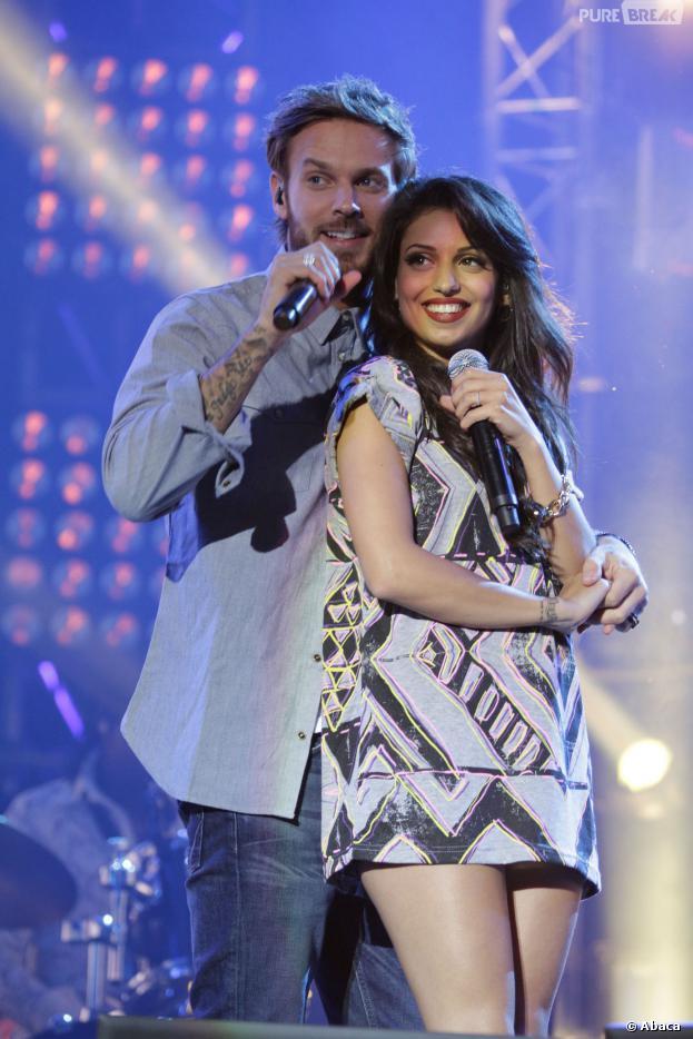 Tal et M. Pokora en duo pendant le M6 Music Live 2013