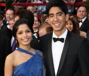 Freida Pinto et Dev Patel sur le tapis rouge des Oscars 2009
