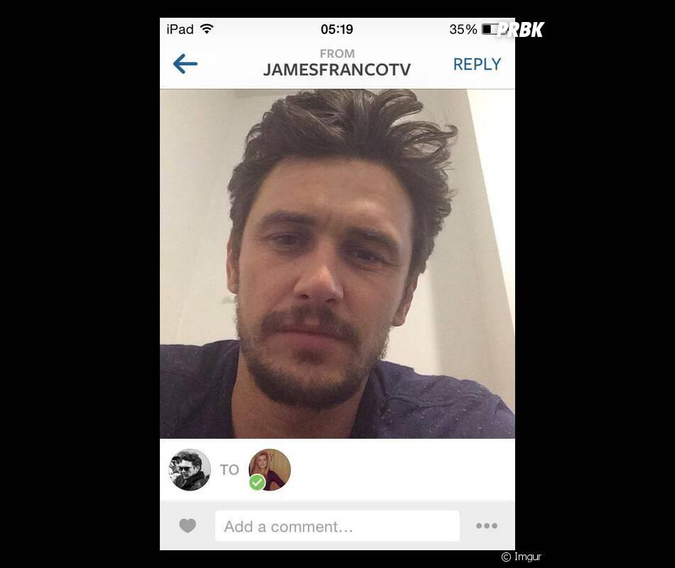 James Franco : messages de drague sur Instagram