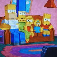 Les Simpson : le jeu vidéo Minecraft s'incruste dans le générique