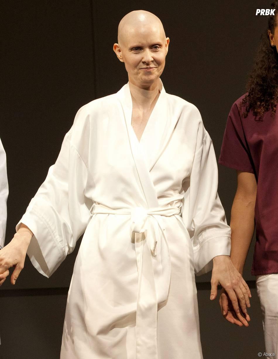 Cynthia Nixon : héroïne à la tête rasée d'une pièce de théâtre en 2012
