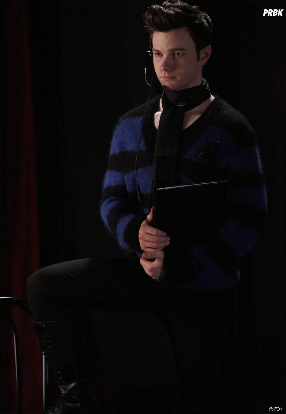 Glee saison 5, épisode 17 : Chris Colfer sur une photo