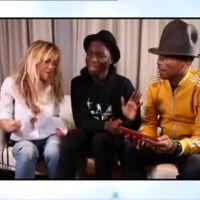 Enora Malagré parodie son interview cata de Pharrell Williams