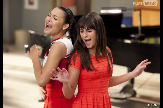 Glee : Naya Rivera VS Lea Michele sur le tournage ?