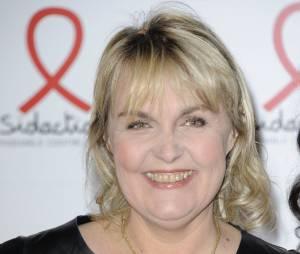 Valérie Damidot souriante à la soirée de lancement du Sidaction 2011