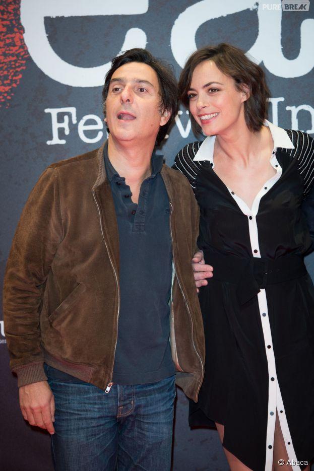 Bérénice Béjo et Yvan Attal au festival du film policier de Beaune, le 3 avril 2014
