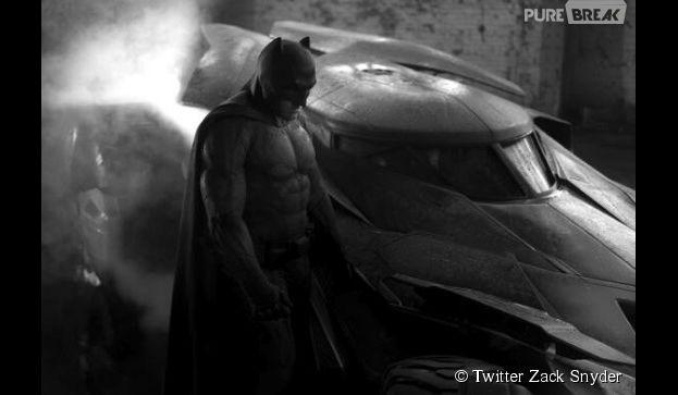 Batman vs Superman : Ben Affleck se dévoile en costume