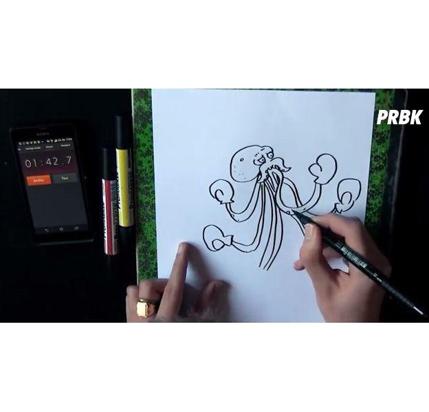Boidin, le youtubeur qui dessine plus vite que son ombre