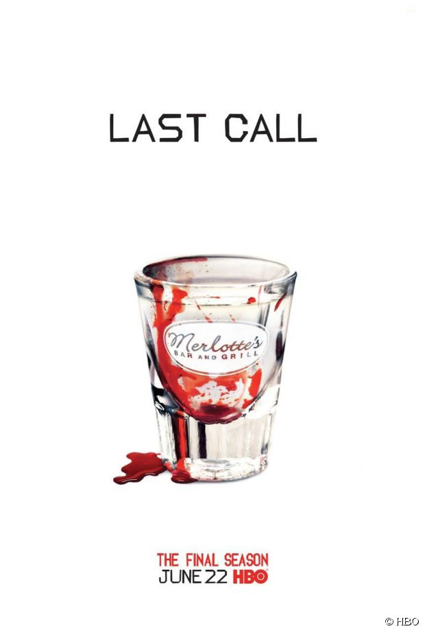 True Blood saison 7 : poster teaser sanglant spécial Merlotte