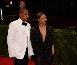 Jay Z et Beyoncé lors du Met Gala 2014