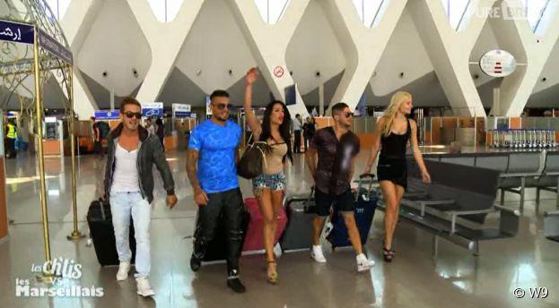 Les Ch'tis VS Les Marseillais : les Marseillais à l'aéroport