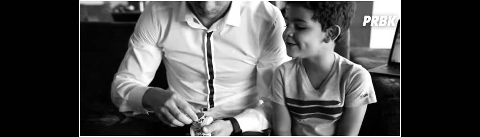 Cristiano Ronaldo : son fils Cristiano Ronaldo Junior tout sourire