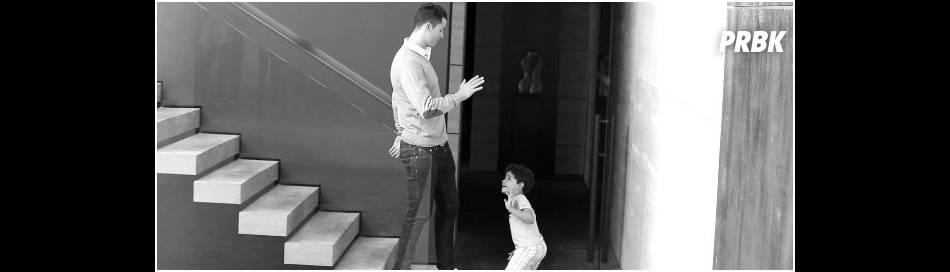 Cristiano Ronaldo et son fils : moment complice dans les coulisses de la campagne Tag Heuer