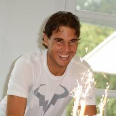 Rafael Nadal : gâteau XL, surprise et sourires pour son anniversaire à Paris